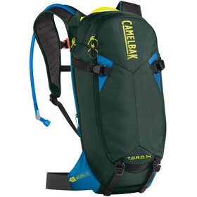 CamelBak T.O.R.O. Protector 14 Backpack dry deep forest/brilliant blue
